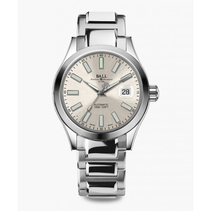 Image for Engineer II Marvelight silver-tone watch