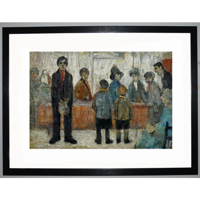 Image for A Doctor's Waiting Room, 1920 by L.S. Lowry