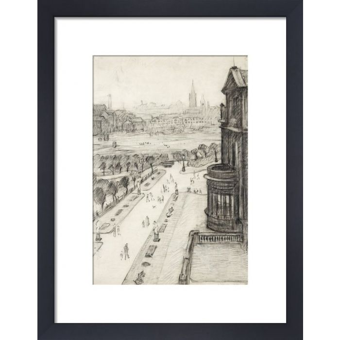 Image for A View From The Window Of The Royal Technical College, Looking Towards Manchester, 1924 by L.S. Lowry