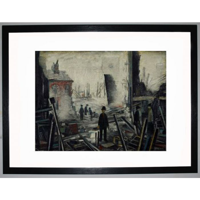 Image for Blitzed Site, 1942 by L.S. Lowry