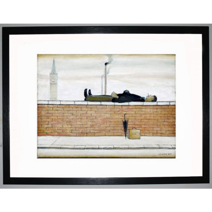 Image for Man Lying On A Wall, 1957 by L.S. Lowry
