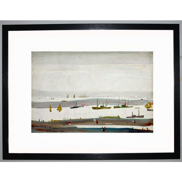 Image for The Estuary, 1956-59 by L.S. Lowry