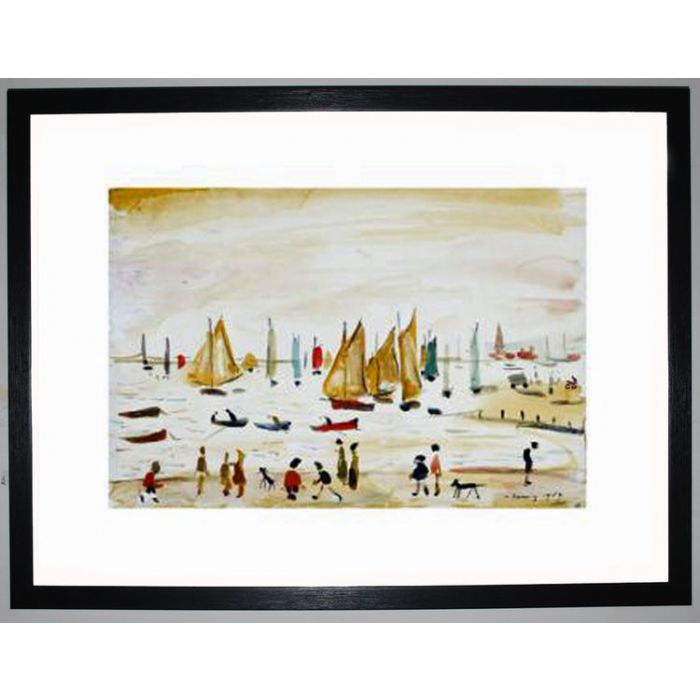Image for Yachts, 1959 by L.S. Lowry