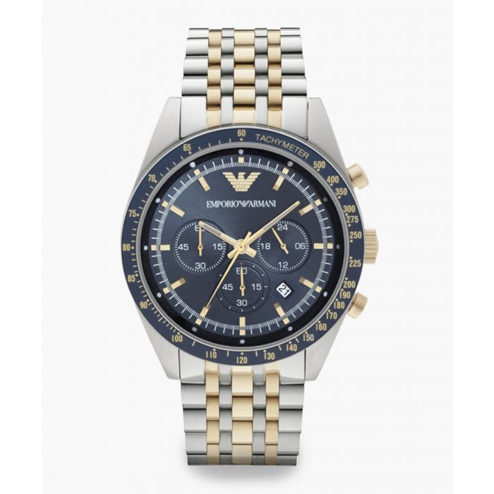 Image for Dual-tone stainless steel quartz watch