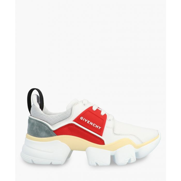 Image for Jaw multi-coloured leather low-top trainers