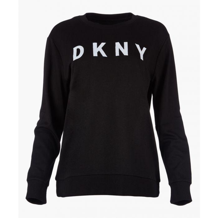 Image for Black logo long sleeve jumper