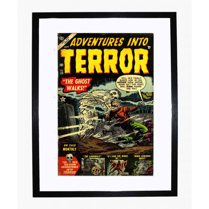 Image for Adventures into Terror 23 framed print