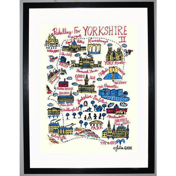 Image for Pedalling for Yorkshire II Cityscape by Julia Gash