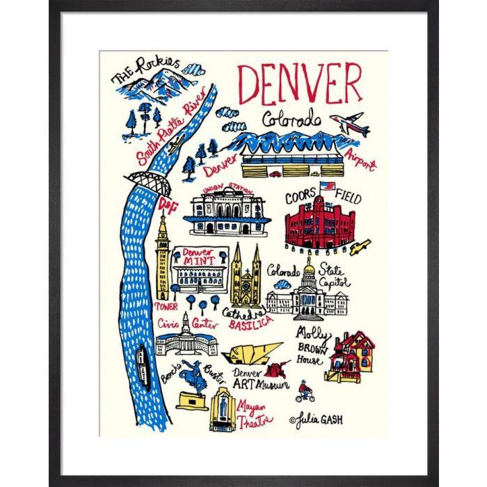 Image for Denver Cityscape by Julia Gash