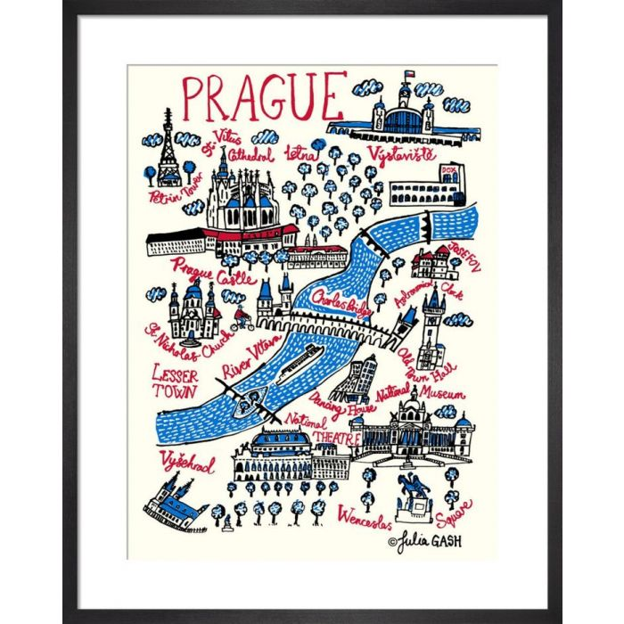 Image for Prague Cityscape by Julia Gash