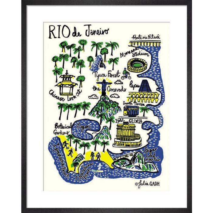 Image for Rio De Janeiro Cityscape by Julia Gash