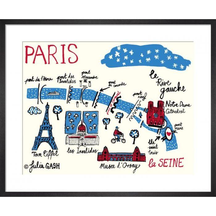Image for A Snapshot of the Rive Gauche, Paris Cityscape by Julia Gash