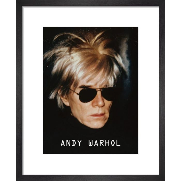 Image for Self-Portrait in Fright Wig, 1986 by Andy Warhol