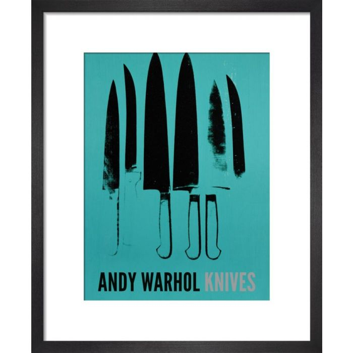 Image for Knives, c.1981-82 (aqua) by Andy Warhol