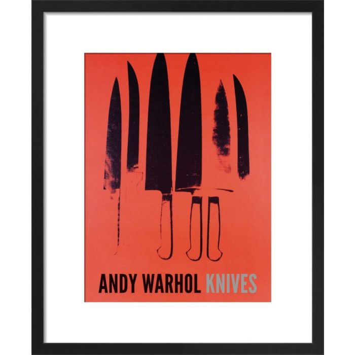 Image for Knives, 1981-82 (red) by Andy Warhol