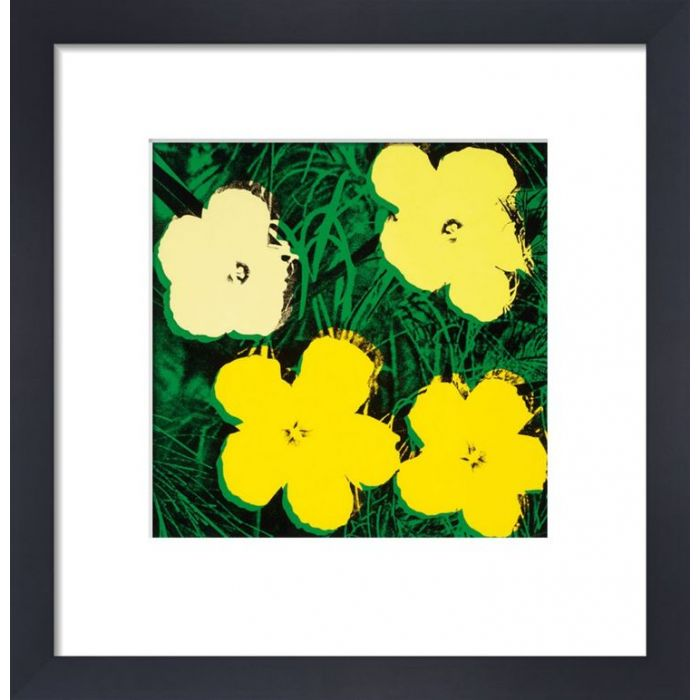 Image for Flowers, c.1964 (4 yellow) by Andy Warhol