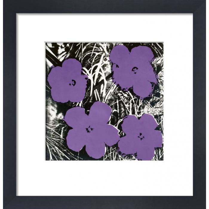 Image for Flowers, c.1964 (4 purple) by Andy Warhol