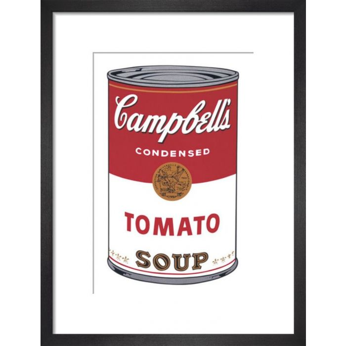 Image for Campbells Soup I Tomato 1968 By Andy Warhol