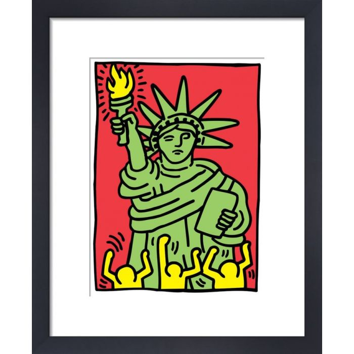 Image for Statue of Liberty, 1986 by Keith Haring