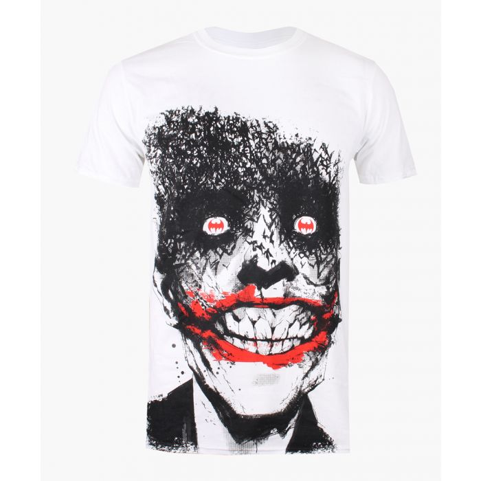 Image for Joker Eyes white cotton T-shirt
