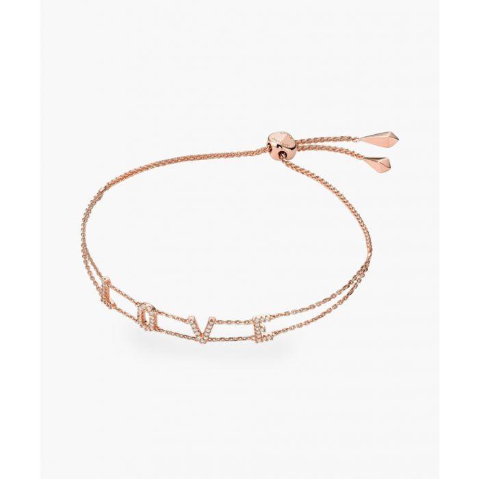 Image for Rose gold-plated bracelet