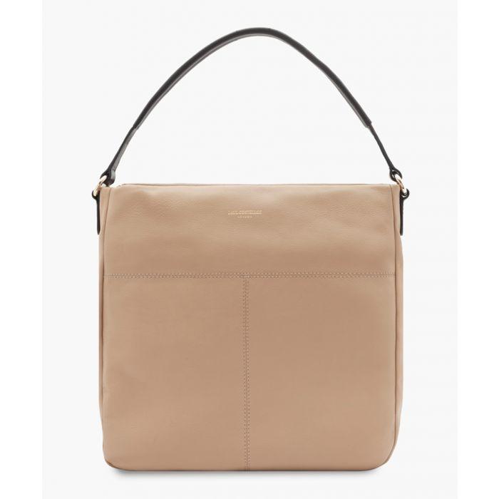 Image for Merida white leather bag