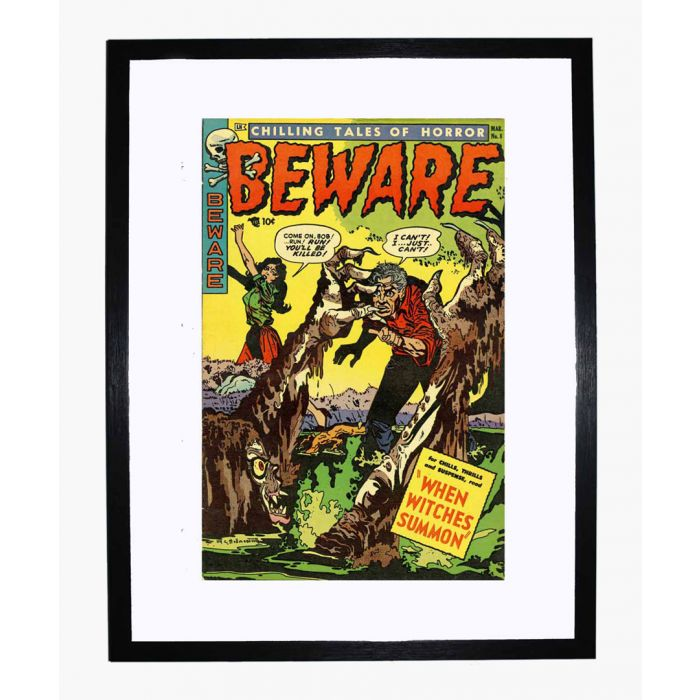 Image for Beware 08 framed print