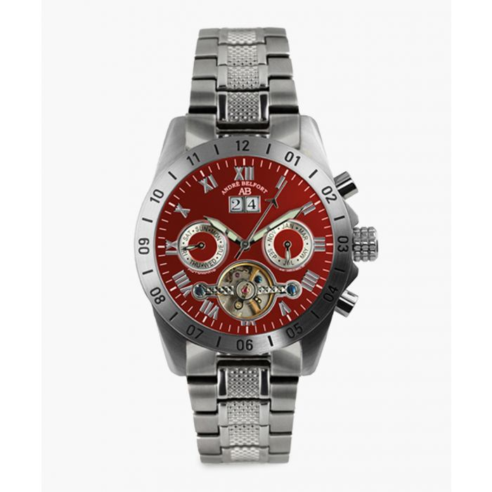 Image for Galactique silver-tone watch