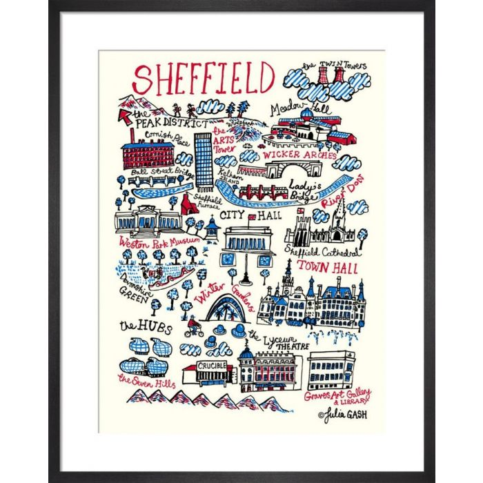 Image for Sheffield Cityscape by Julia Gash
