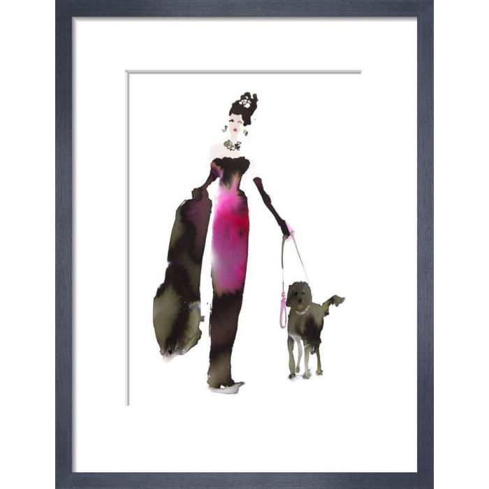 Image for What to Wear When Walking the Dogs - Pink Dress by Bridget Davies