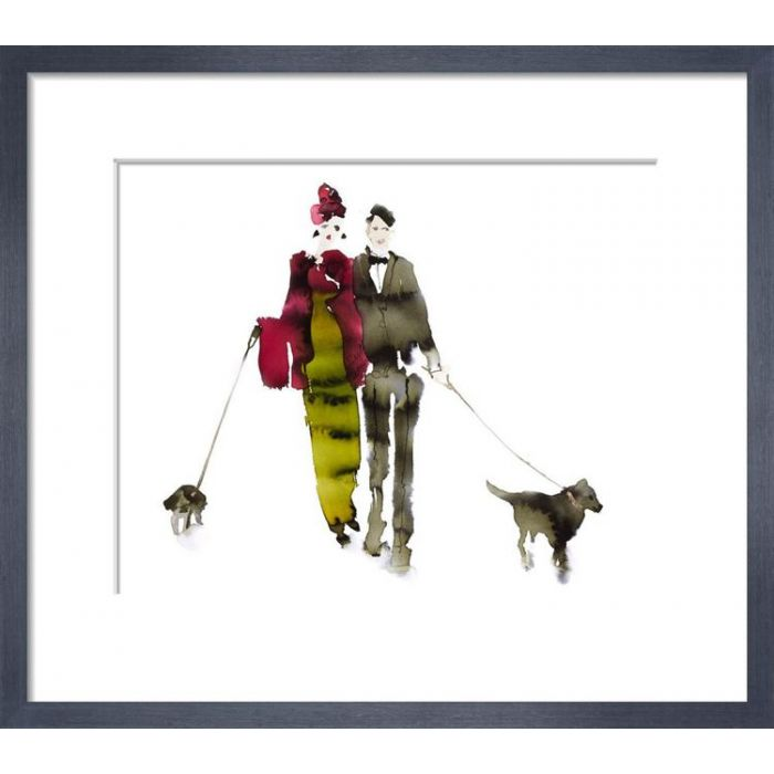 Image for What to Wear When Walking the Dogs - Eva & Gerald by Bridget Davies