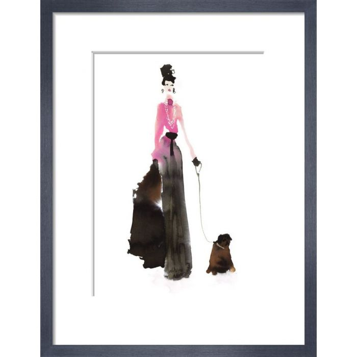 Image for What to Wear When Walking the Dogs - Pink & Pearls by Bridget Davies