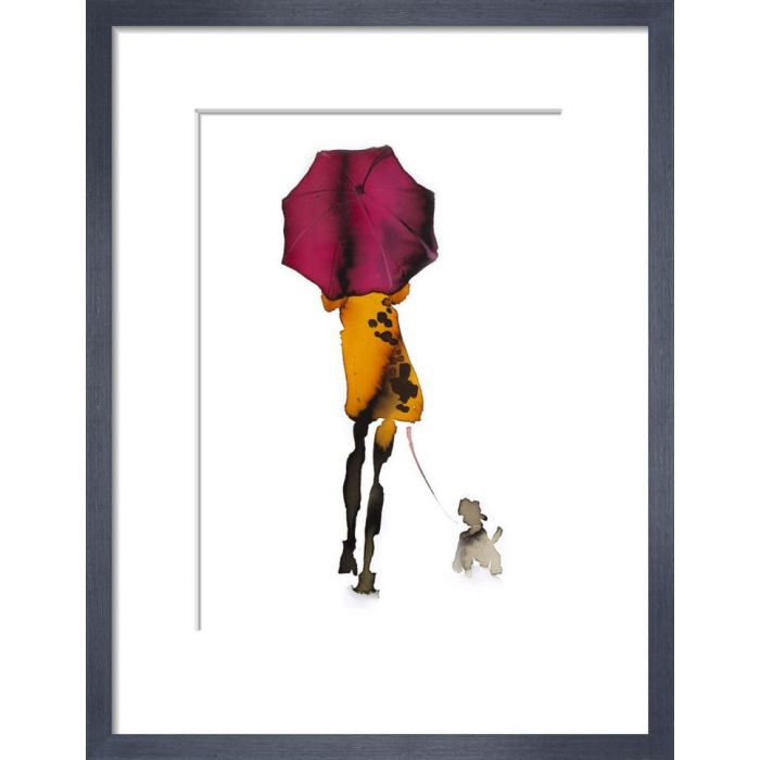 Image for What to Wear When Walking the Dogs - Umbrella by Bridget Davies