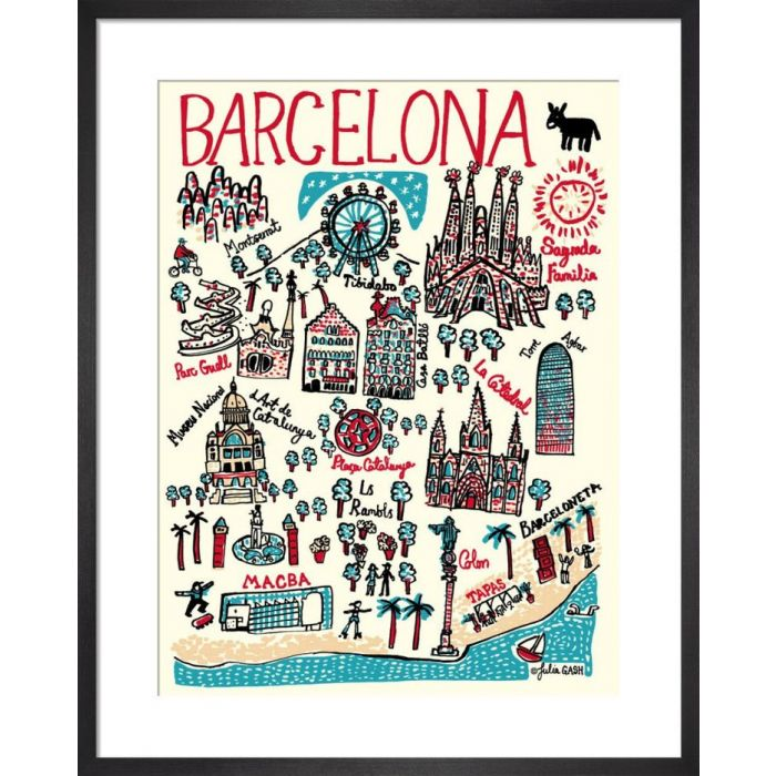 Image for Barcelona Cityscape by Julia Gash
