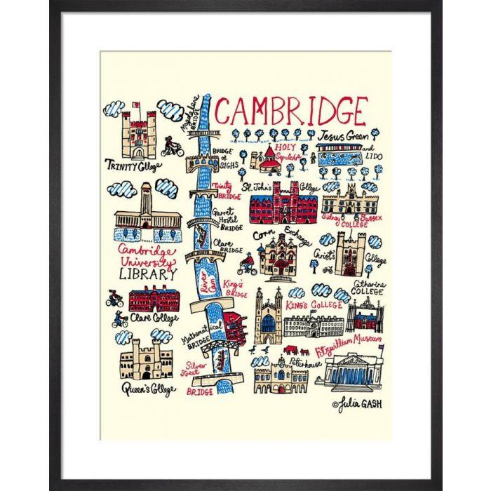 Image for Cambridge Cityscape by Julia Gash