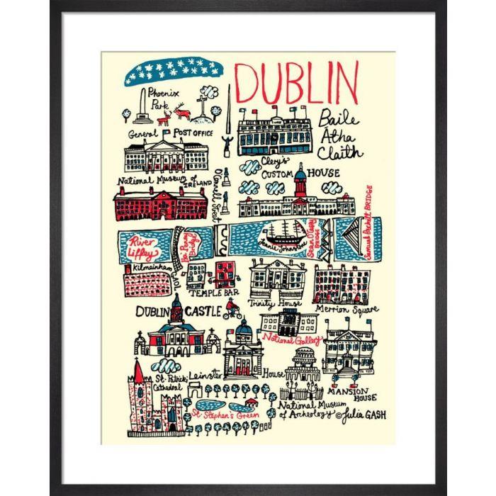 Image for Dublin Cityscape by Julia Gash