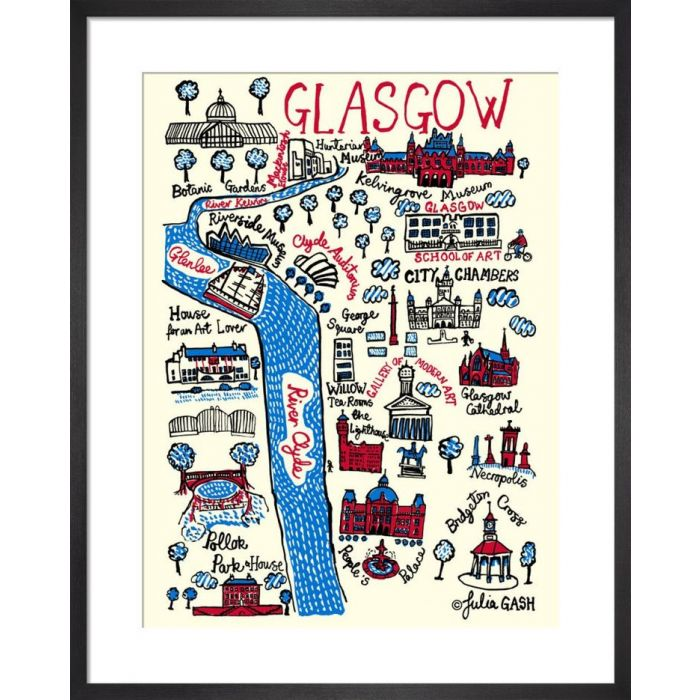 Image for Glasgow Cityscape by Julia Gash