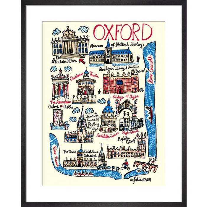 Image for Oxford Cityscape by Julia Gash