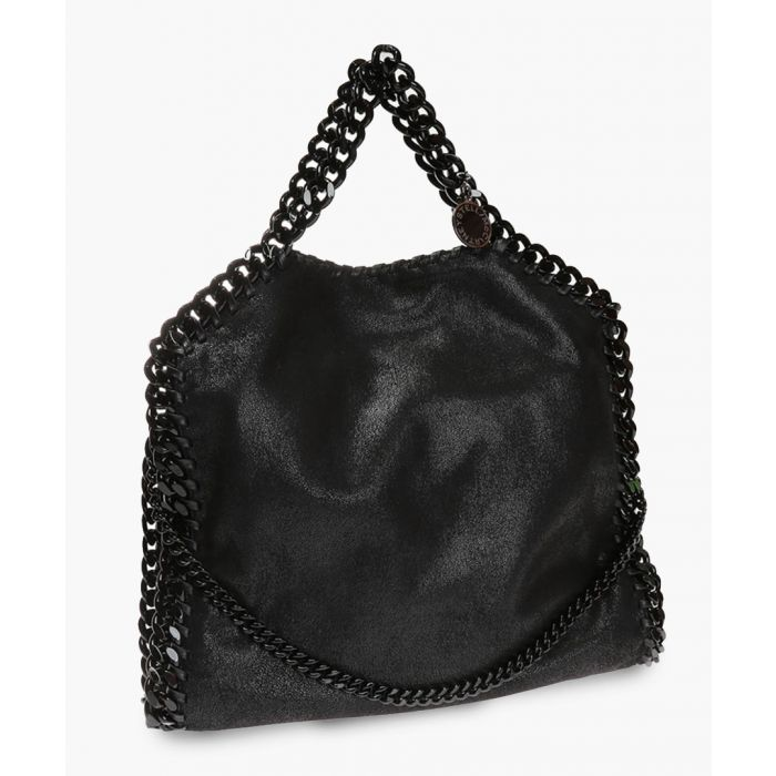 Image for Black chain tote