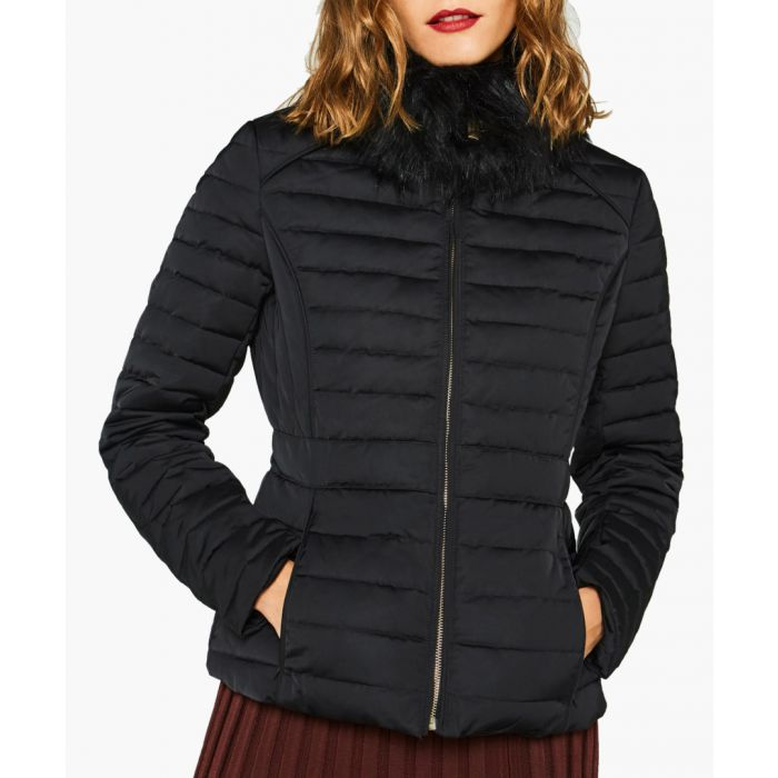 Image for Women's black padded down jacket