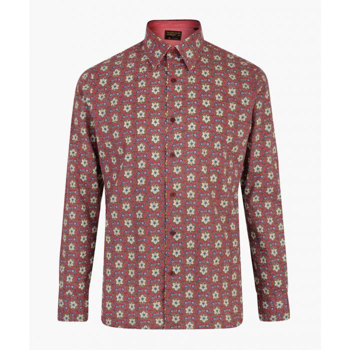 Image for Merlot pure cotton printed shirt