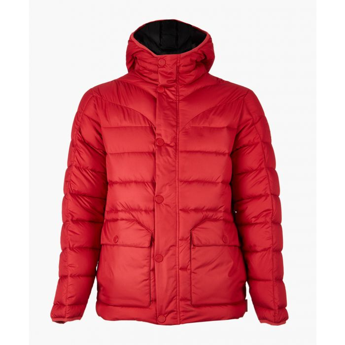 Image for Red puffer jacket