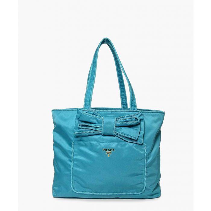 Image for Tessuto and Passama turquoise shoulder bag