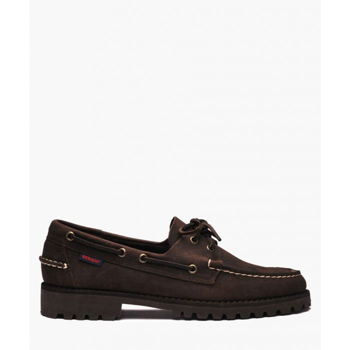 Image for Dockside Portland brown leather shoes