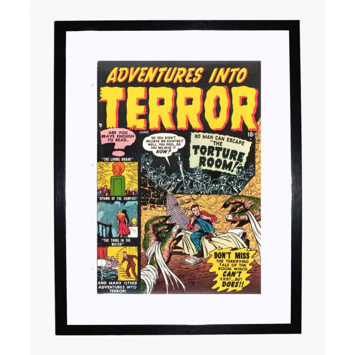 Image for Adventures into Terror 04 framed print