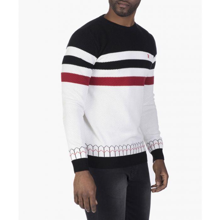 Image for Black and ecru jumper