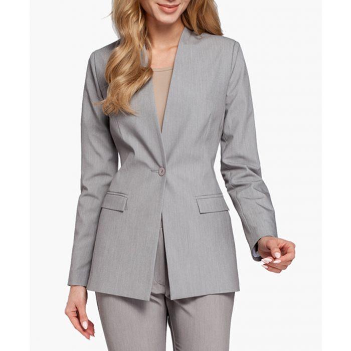 Image for Grey Woven Blazer