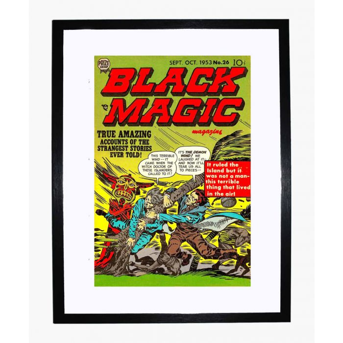 Image for Black Magic 26 framed print