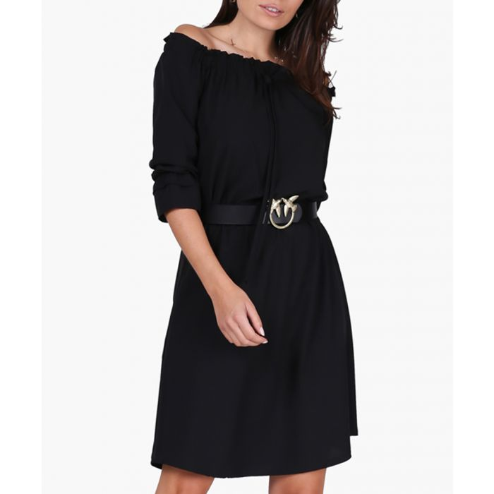 Image for Black woven dress