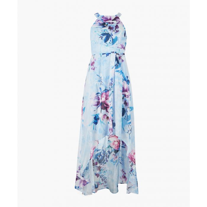 Image for Helena multi-coloured printed dress